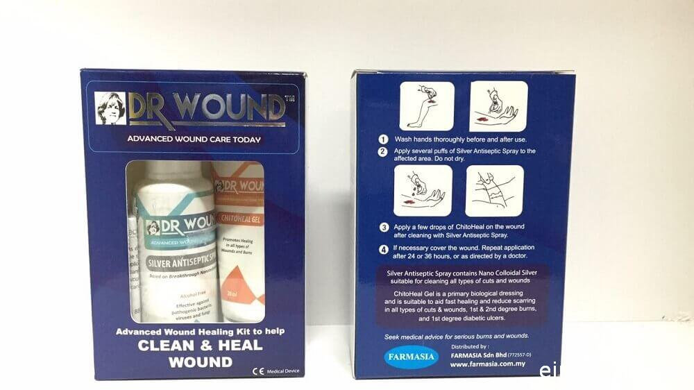 dr wound healing kit malaysia