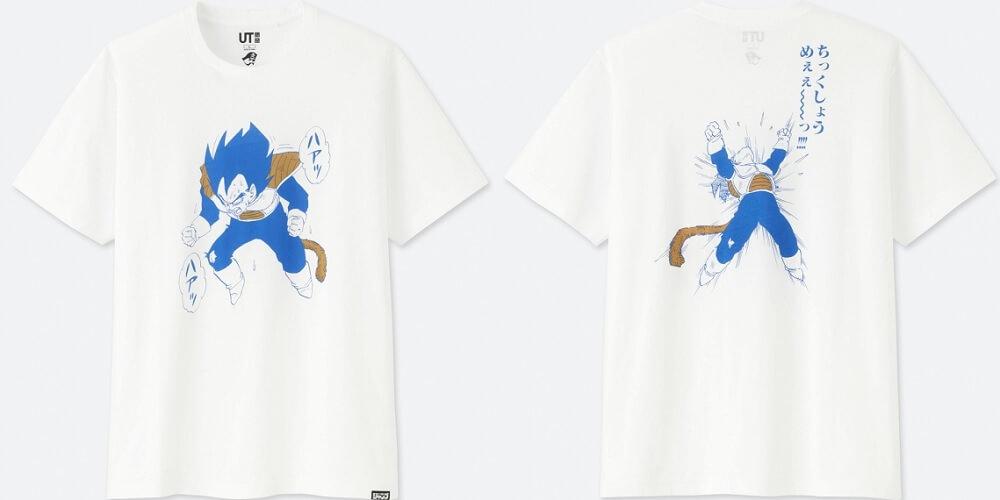 uniqlo dragon ball tshirt 1