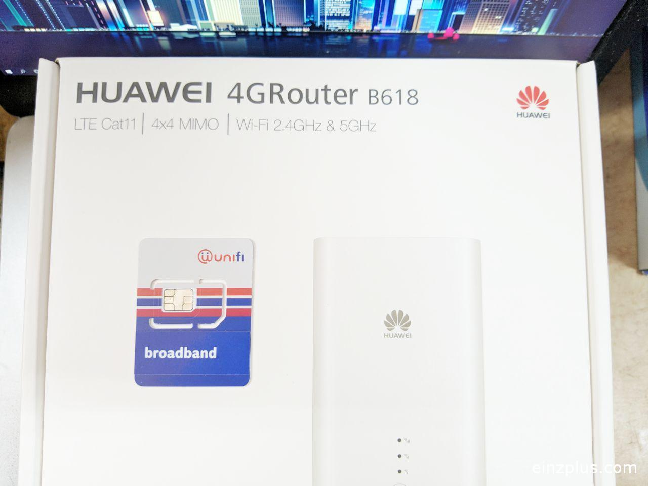unifi air review huawei b618s-65d