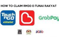 claim rm30 e-tunai rakyat