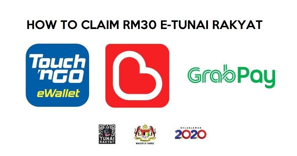 how to claim rm30 e-tunai rakyat