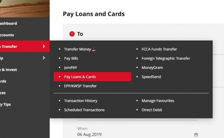 how to pay loan using cimbclicks malaysia